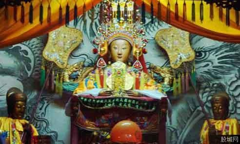中华保钓协会送妈祖头像