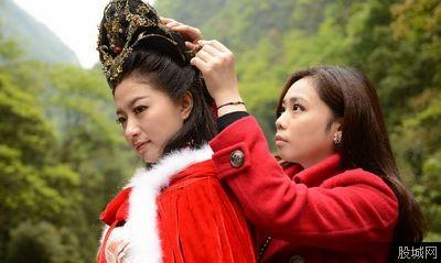中国古代四大美女静态电影中貂蝉扮演者