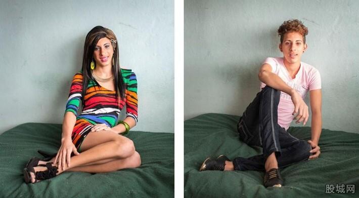 摄影师展现古巴变性人手术前后对比图