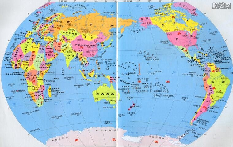 世界上邻国最多的国家是中国 中国有20个邻国