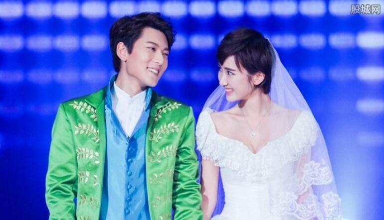 陈翔结婚照似公主王子 王子文老公刘乐结婚照