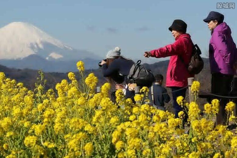 日本游客数量创纪录新高