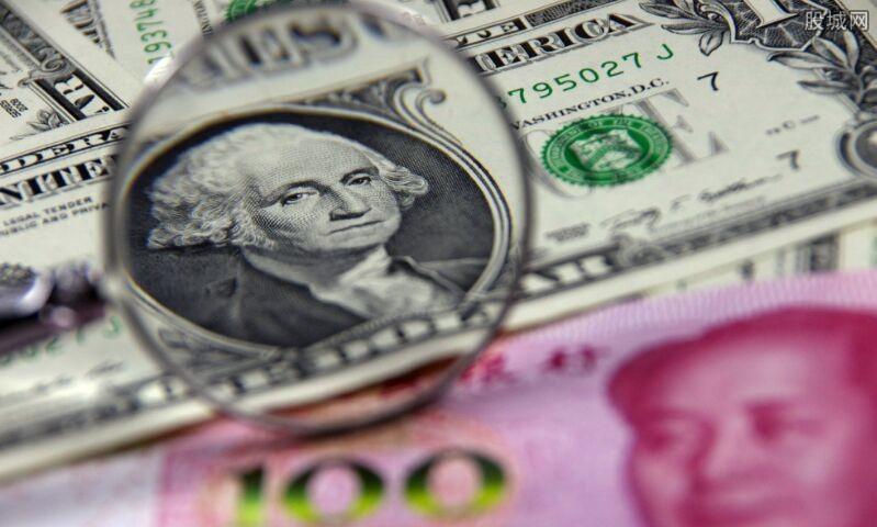 今日美元对人民币汇率