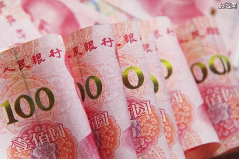 人民币换美元升值