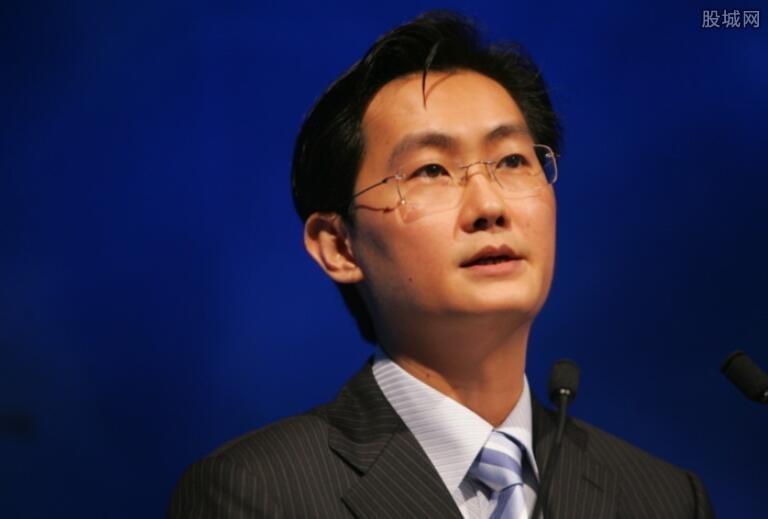 马化腾登顶中国首富