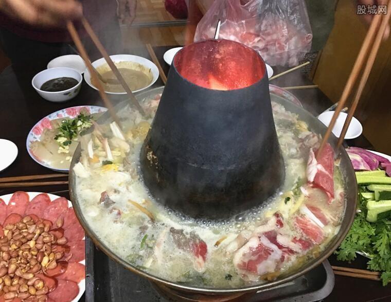 好友一起吃火锅
