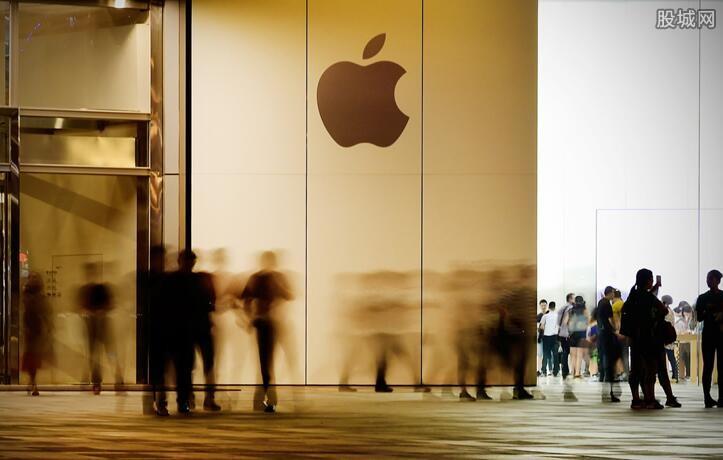 苹果股价暴跌
