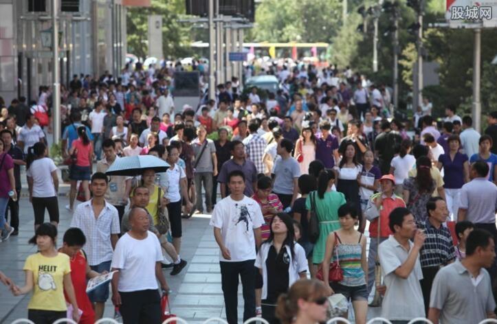 中国人口负增长