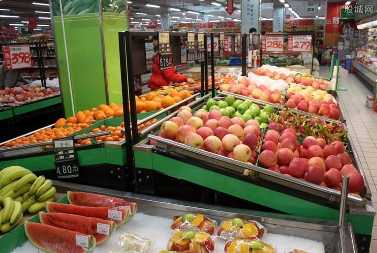超市水果摊