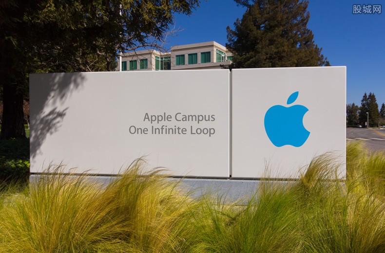 苹果市值重回万亿美元
