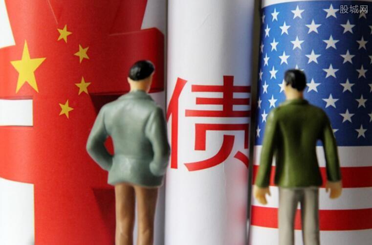 中国持有的美债规模