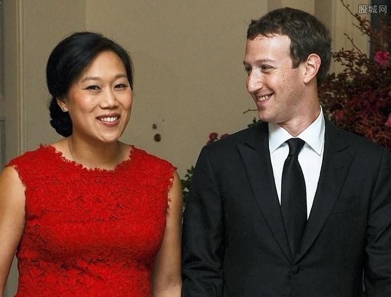 扎克伯格和妻子