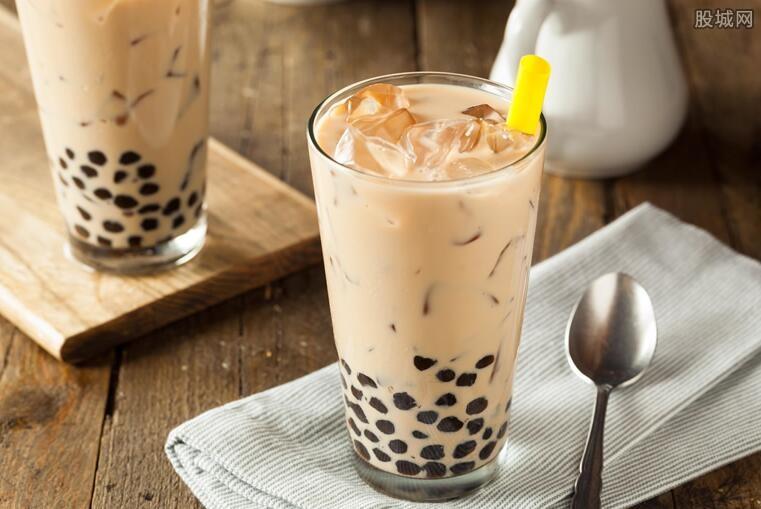 奶茶销量上涨