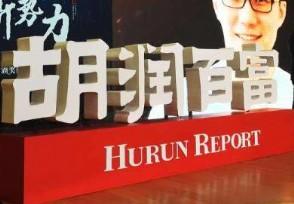 2020年胡润百富榜发布谁是中国最富有的人?