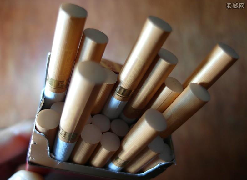 中国烟草税收一年多少