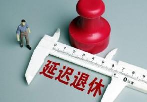 延迟退休方案已趋于成熟哪年开始正式执行?