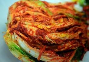 韩国政府回应泡菜标准与中国泡菜有着区别