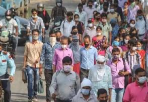 印度疫情最新消息 单日新增病例连续四天突破20万例