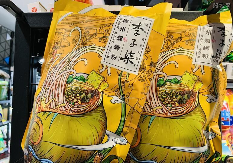 李子柒螺蛳粉产品