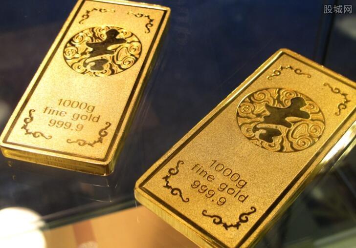 银行的黄金和金店的黄金