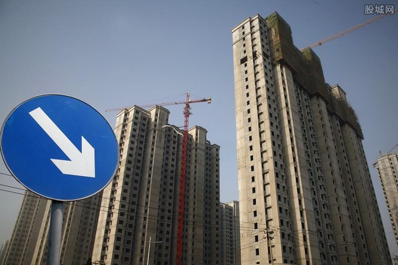 融创中国股价下跌